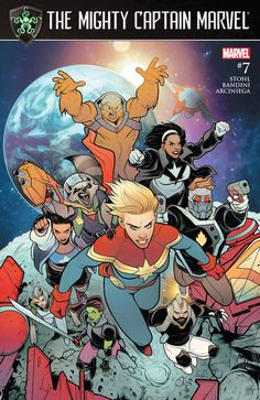 The Mighty Captain Marvel #7 - Band of Sisters, Part 3 of 4