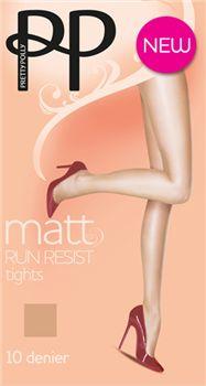 Pretty Polly 10 Denier Matt Run Resist Tights - Pretty Polly Everyday Hosiery