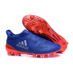 new styles f39ee b8fab Comprar Chuteira adidas X 16 Purechaos FG AG Homens - Azul laranja Prata