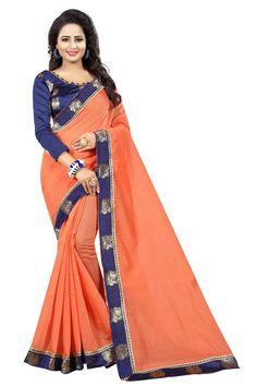 Peach Saree, Sari, Queen, Wedding, Fashion, Saree, Valentines Day Weddings, Moda, Fashion Styles