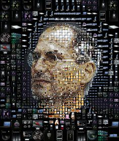 Tribute to Steve Jobs in picture
