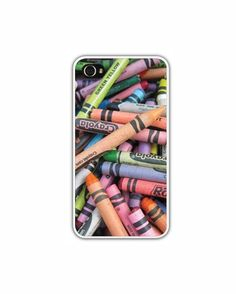 Classic Crayon iPhone Case  iPhone 4 4s or 5 by LovesParisStudio, $30.00