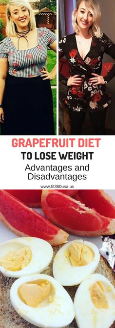 Grapefruit Diet to Lose Weight - These are the advantages and disadvantages of the grapefruit diet so that you can value it yourself.