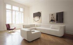 NUBA sofa by VERTIJET design studio for COR