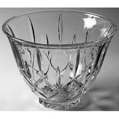 Gorham Lady Anne Punch Bowl, Crystal Tableware My wedding crystal; I have this punch bowl, still! ~M