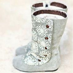 Callista Faux Suede Boots