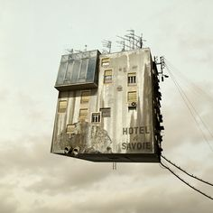 Flying Houses - Untitled