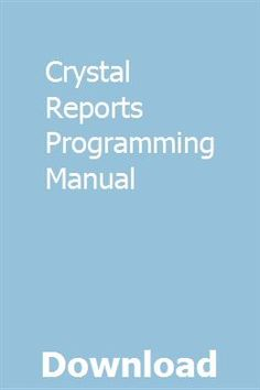 11 Best Crystal Reports images in 2015   Crystal reports