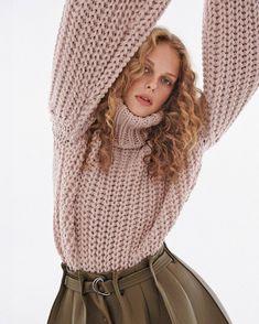 "Why Not Models on Instagram: ""Esther 💖 @estherlomb_ for F Magazine / Shot by @fabioleidi / Styling @leo080174 / Hair @maurizio_kulpherk_ / Makeup @ivonamilosevic -…"" Sweater Weather, Turtle Neck, Magazine, Models, Makeup, Sweaters, Hair, Instagram, Fashion"