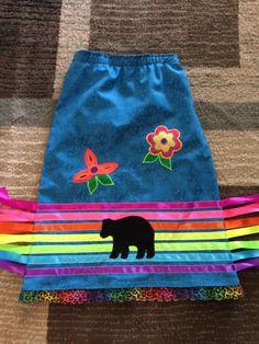 Rainbow Ribbon Skirt