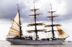 awesome Fotografie »GORCH FOCK«,  #Auf'm Schiff #Hafenbilder