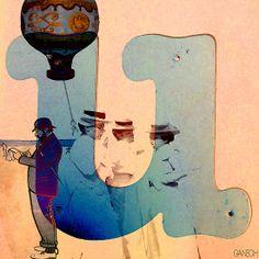 """Collage """" les demoiselles de Rochefort """""""