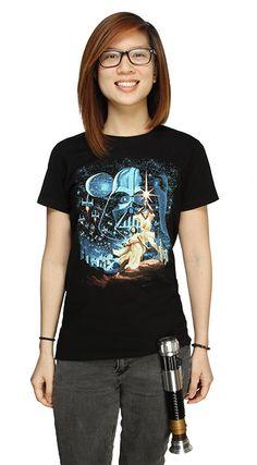Classic Star Wars Ladies' Tee