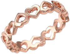 Eternity Heart Band Ring Brand: Bing Bang          -       Buy it, Borderlinx will ship it to you. http://www.borderlinx.com/