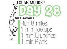 #toughmudder workout day 28