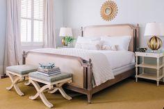 Soft and pretty bedroom | Photography by Corbin Gurkin / corbingurkin.com/ http://zerogeorge.com/ | Style Me Pretty Living