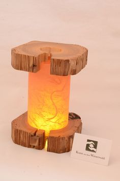 Laterne - Aus dem Holz der Sonne. Table Lamp, Lighting, Home Decor, Sun, Timber Wood, Kunst, Table Lamps, Decoration Home, Room Decor