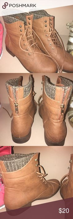 Charlotte russe boots Brand new , no box Charlotte Russe Shoes Combat & Moto Boots
