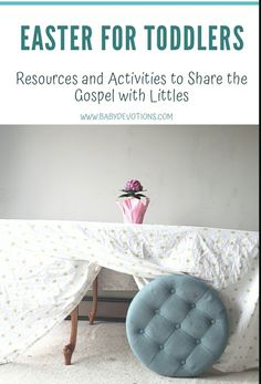 The Best Easter Resources for Preschoolers Easter Activities, Infant Activities, Book Activities, Resurrection Eggs, Easter Messages, Easter Story, Ottoman Cover, Easter Traditions, Holy Week