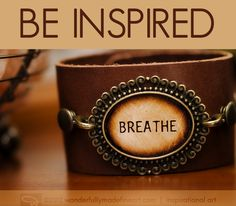 leather cuff bracelets with quotes | Be Still | Inspirational Leather Cuff Bracelet Wristband - Be a ...