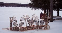 Brian J. and Edmond Theriault Release Book on Making Traditional Snowshoes