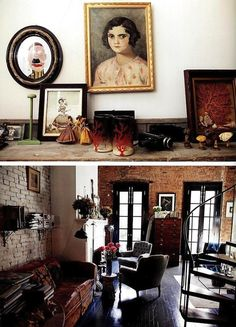 Helena Christensen's loft in NY by The Selby