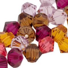 This is my favorite Fusion Beads color inspiration...the Crystal mix called Petal, I've used it several times for different projects, just beautiful.