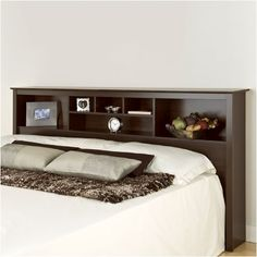 Prepac Manhattan Storage Bookcase Headboard & Reviews | Wayfair