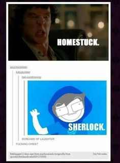 So just imagine John meeting Sherlock. Actually, ROSE meeting Sherlock.<< hows about both the lalondes