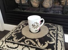 Decorated Mugs by TashkeelDesigns on Etsy