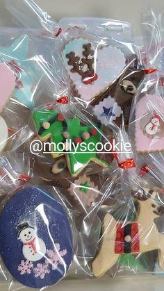 #instagram #mollyscookie  @mollyscookie #sugarart #fondantcookie #fondant #cookies #christmascookies