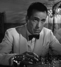 Rick Blaine (Humphrey Bogart) in Casablanca  Rick Blaine had to dress to impress: He ran the best-loved joint in Morocco, and he was so revered by the locals and tourists alike that he only had to walk from bar to piano to be accosted for attention. Bogart played it with such smoldering casualness that even his formalwear looked tossed-off and easy.