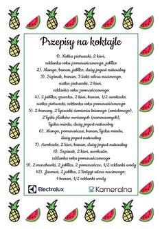 Koktajle przepisy na koktajle smoothies The post Koktajle przepisy na. Koktajle przepisy na koktajle smoothies The post Koktajle przepisy na koktajle smoothies appeared first on fitness. Breakfast Smoothie Recipes, Smoothie Drinks, Smoothie Diet, Workout Smoothie, Detox Tee, Healthy Cocktails, Smoothies For Kids, Exotic Food, Kids Diet