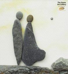 Pebble Art: Pebbles from the Inishowen Coastline.  Facebook: The Stone Art Gallery www.thestoneartgallery.com Picture Wire, Pebble Pictures, Pebble Art, Stone Art, Resin Jewelry, Rock Art, Art Work, Art Gallery, Rocks