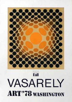 Vasarely. Optic art ❤️ ♣️Fosterginger.Pinterest.ComMore Pins Like This One At FOSTERGINGER @ PINTEREST No Pin Limitsでこのようなピンがいっぱいになるピンの限界