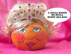 The Swell Life: Make a Honey Boo Boo Pumpkin