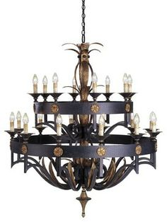 Currey and Company CNC-9837 Camelot Traditional Chandelier traditional chandeliers