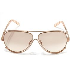 003728843e92 Chloe Rose Isadora Aviator Sunglasses ( 365) ❤ liked on Polyvore featuring  accessories