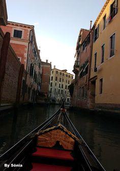 Gondolas tradição Veneza