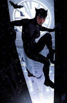 """Catwoman 64"" by Adam Hughes."