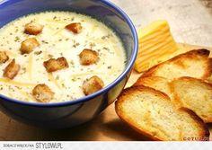 Zupa serowa przepis Składniki: - 2 cebule - 1 marchewka…