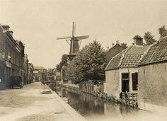Gruttersdijk te Utrecht tussen de Adelaarstraat en de Weerdsingel met de Oosterstroom (Utrechts Archief 57617)