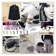 """""""YesStyle Polyvore Group """" Show us your YesStyle """""""" by damira-dlxv ❤ liked on Polyvore featuring Fairyland, Berryard, Ballerina Bags, women's clothing, women's fashion, women, female, woman, misses and juniors"""