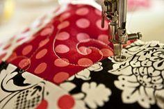 freehand machine quilt tutorial
