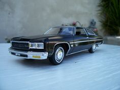 1976 Chevy Caprice 1/25 scale model car.
