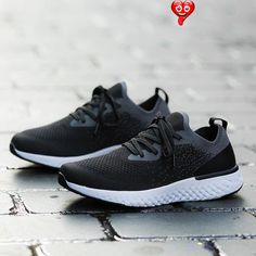Sneakers women fashion mesh women sneakers lace-up sport shoes woman solid comforatble outdoor women casual shoes tennis Sneakers women fashion mesh women sneakers lace-up sport shoes woman solid comforatble outdoor women casual shoes tennis Outfit Accessories From Touchy Style.   Free International Shipping.<br> Black Sports Shoes, Black Shoes Sneakers, Sneakers Outfit Casual, Tennis Shoes Outfit, Jeans And Sneakers, Sneakers Women, Womens Fashion Sneakers, Best Sneakers, Casual Shoes
