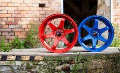 """Nowe kolory już są JR-3 """"Matt Bloody Red"""" oraz """"Matt Blue"""" zapraszamy do sklepu internetowego: http://www.rpmotorsport.pl/felgi-japan-racing-c-1_753_6992.html  #jrwheels #japanracing #rpmotorsport #tuning"""