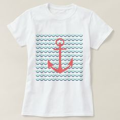 zazzle t-shirts   Anchors Away T-Shirt   Zazzle