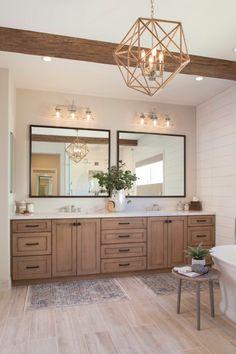 Bathroom Interior Design, Home Interior, Bathroom Renovations, Home Remodeling, Master Bedroom Bathroom, Master Baths, Master Bathroom Designs, Master Bathroom Vanity, Master Bathroom Layout