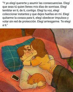 """DIBUJOS ...........❇🔵 compartió una foto en Instagram: """"Cuenta de respaldo @dibujostoxicos + ++ + + + + autor @ . .. . .…"""" • Mira 1,938 fotos y videos en su perfil. Famous Phrases, Love Phrases, Fact Quotes, Love Quotes, Romantic Love Photos, Stupid Love, Cute Couple Art, Quotes En Espanol, Love Boyfriend"""